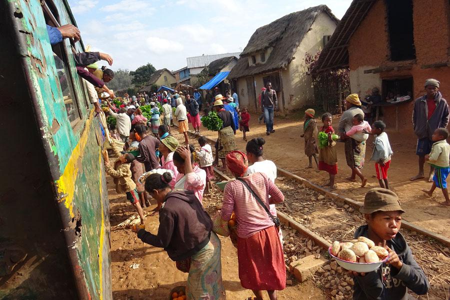Madagascar treinreis